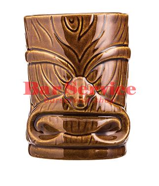 """Стакан д/коктейлей """"Тики"""";керамика 450мл, коричневый. в Саратове"""