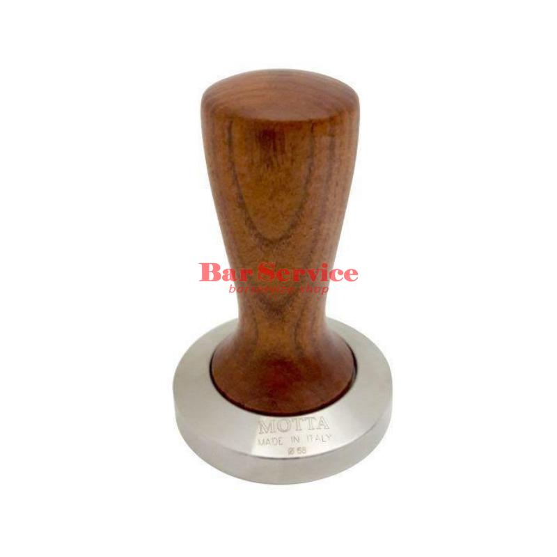 Темпер Мотта SLIM 58 мм. (плоский) рукоятка из дерева в Саратове