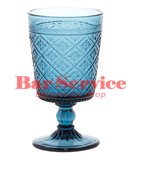"""Бокал д/вина """"Глория""""; стекло; 240мл; синий в Саратове"""