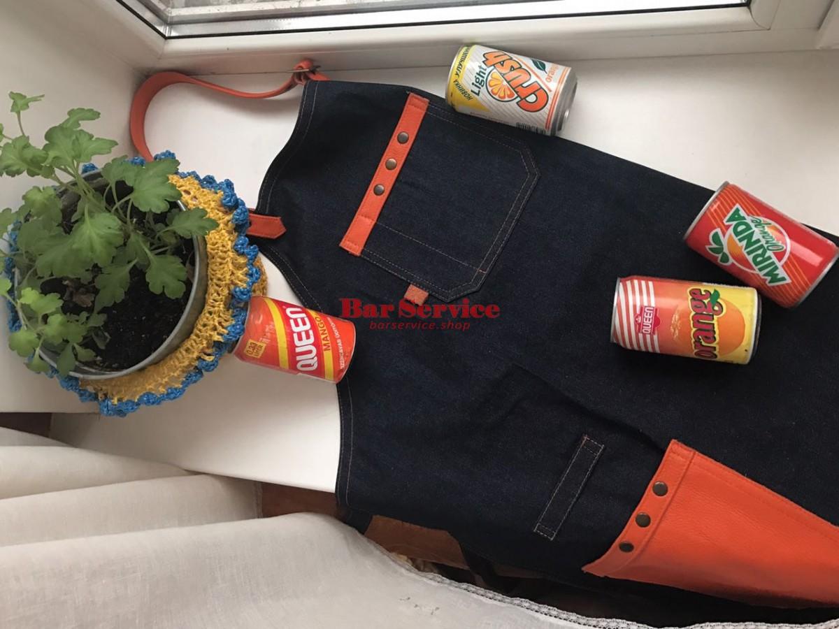 """Фартук барменский """"апельсин"""" в Саратове"""
