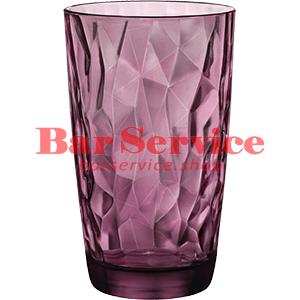 Хайбол «Даймонд» 470мл; фиолет. в Саратове