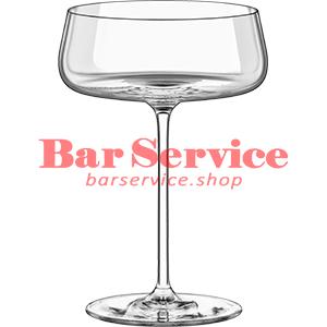 Шампан.-блюдце Мод; хр. стекло 425мл; D=120,H=170мм прозр в Саратове