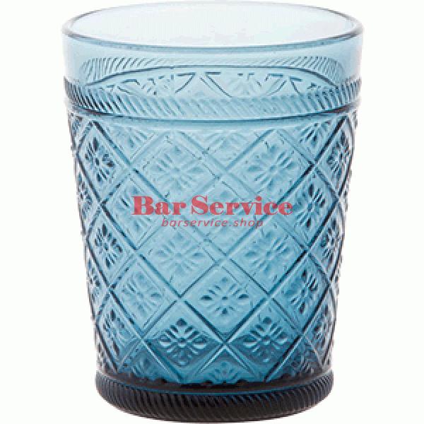 Стакан Глория; стекло; 350мл; синий в Саратове