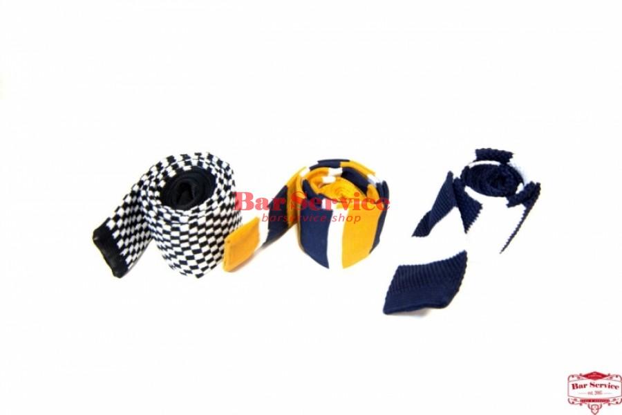 Галстук вязанный шерсть (цвет в ассортименте) в Саратове